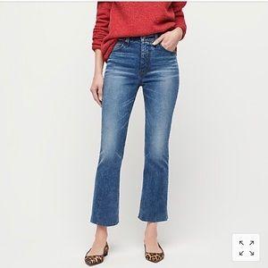 JCrew Demi Boot Cut Jean- never worn
